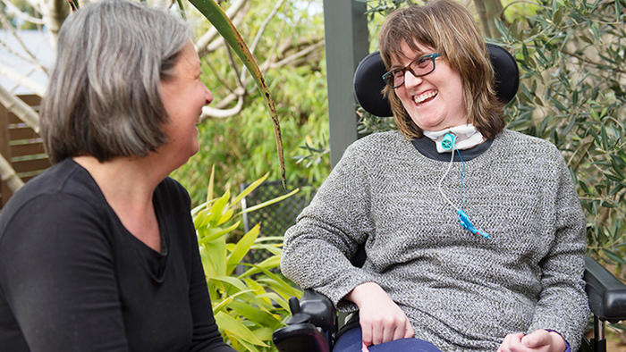 A participant in the NDIS
