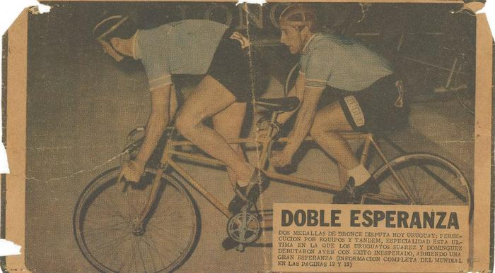 Newspaper clipping, Uruguay