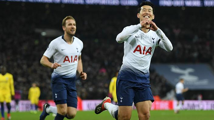 Son Heung-min s superb goal helps Spurs outclass visitors in London derby  win af7d20ad9