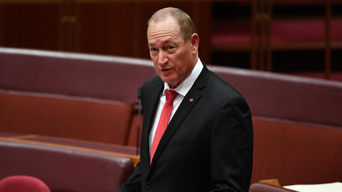 Senator Fraser Anning Update: Fraser Anning And The Use Of The Words 'final Solution